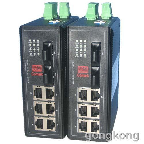 深圳讯记 CK-IF620八口10/100/1000M网管型工业以太网交换机