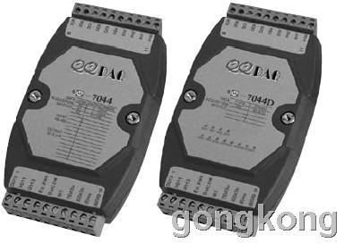 QQDAQ-7044/7044D 隔离数字输入输出模块