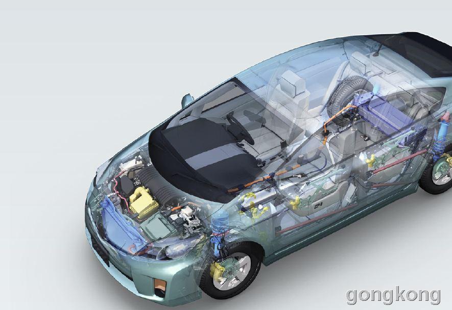 KEYENCE 基恩士 汽车电子零件行业应用案例