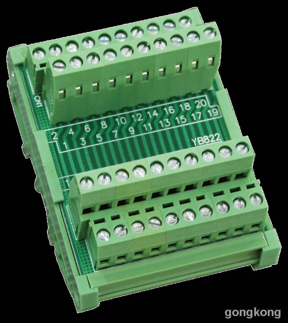 继电器模组  PLC模组YB822