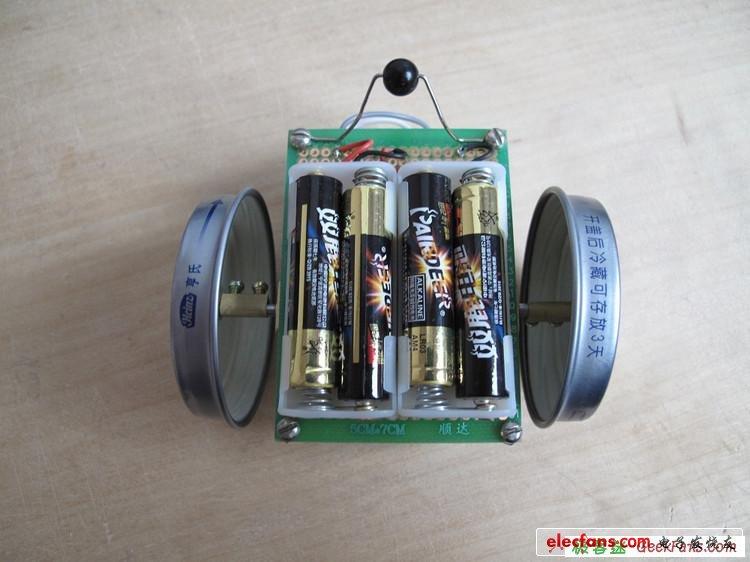 模拟电路控制的循线机器人制作教程