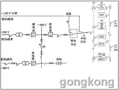 500a可控硅一整流器的电路图