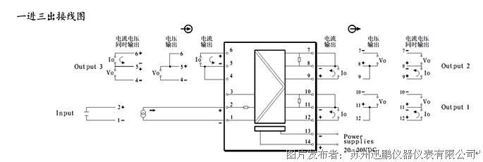 xp系列信号分配器 xp系列电位计信号变送器 xp系列热电阻温度变送器