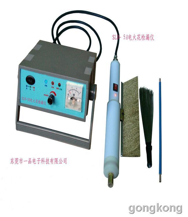 当脉冲高压经过时,就形成气隙击穿而产生火花放电,同时给报警电路送去