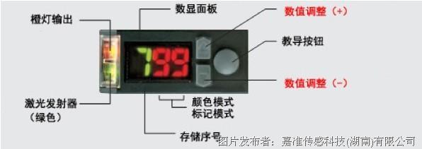 嘉准传感器最新推出FC-18N色标传感器
