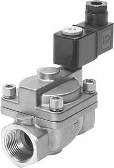 电磁阀VZWP:适用于压力高的应用场合。(照片:Festo)