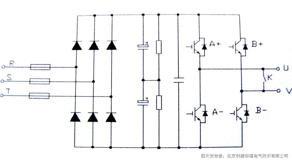 其电路结构见图2,为基本的交-直-交单相逆变电路