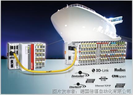 倍福推出船舶行业的通用自动化系统