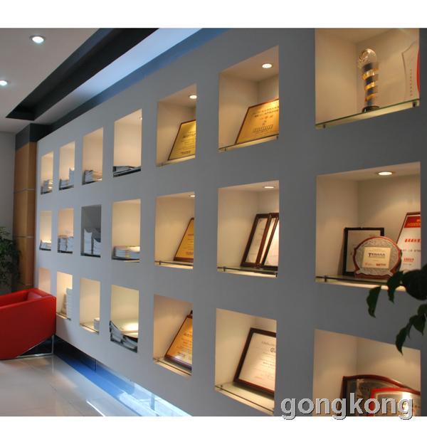 公司荣誉墙效果图图片 公司文化墙设计效果图,荣誉墙设计效高清图片