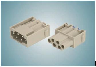 浩亭Han E模块:具有Han-Quick Lock端接技术,节省时间且方便组装