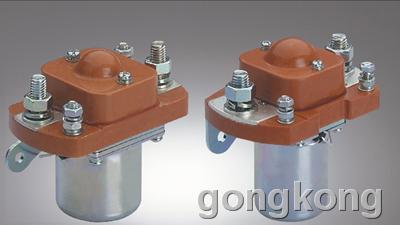 用途: zj100/zj200-d系列直流电磁接触器适用于电瓶车,电动叉车,电动