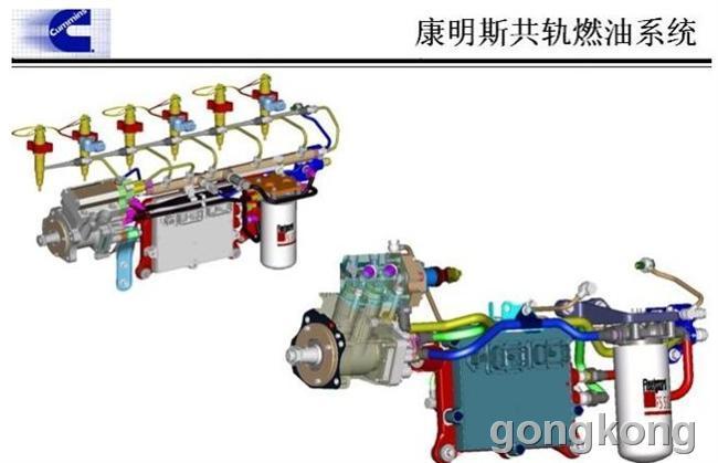 起动机电路图-东风康明斯发动机结构图 技术部图片