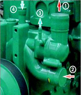 柴油发电机的工作原理与发动机的基本构成 高清图片