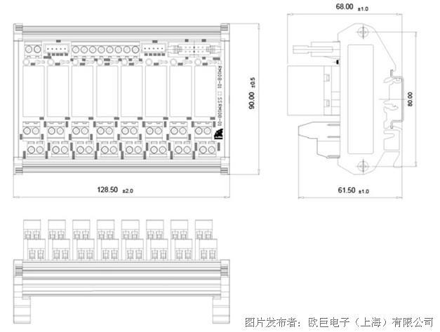 eumax欧巨电子oz继电器模组oz继电器模组-新品速递