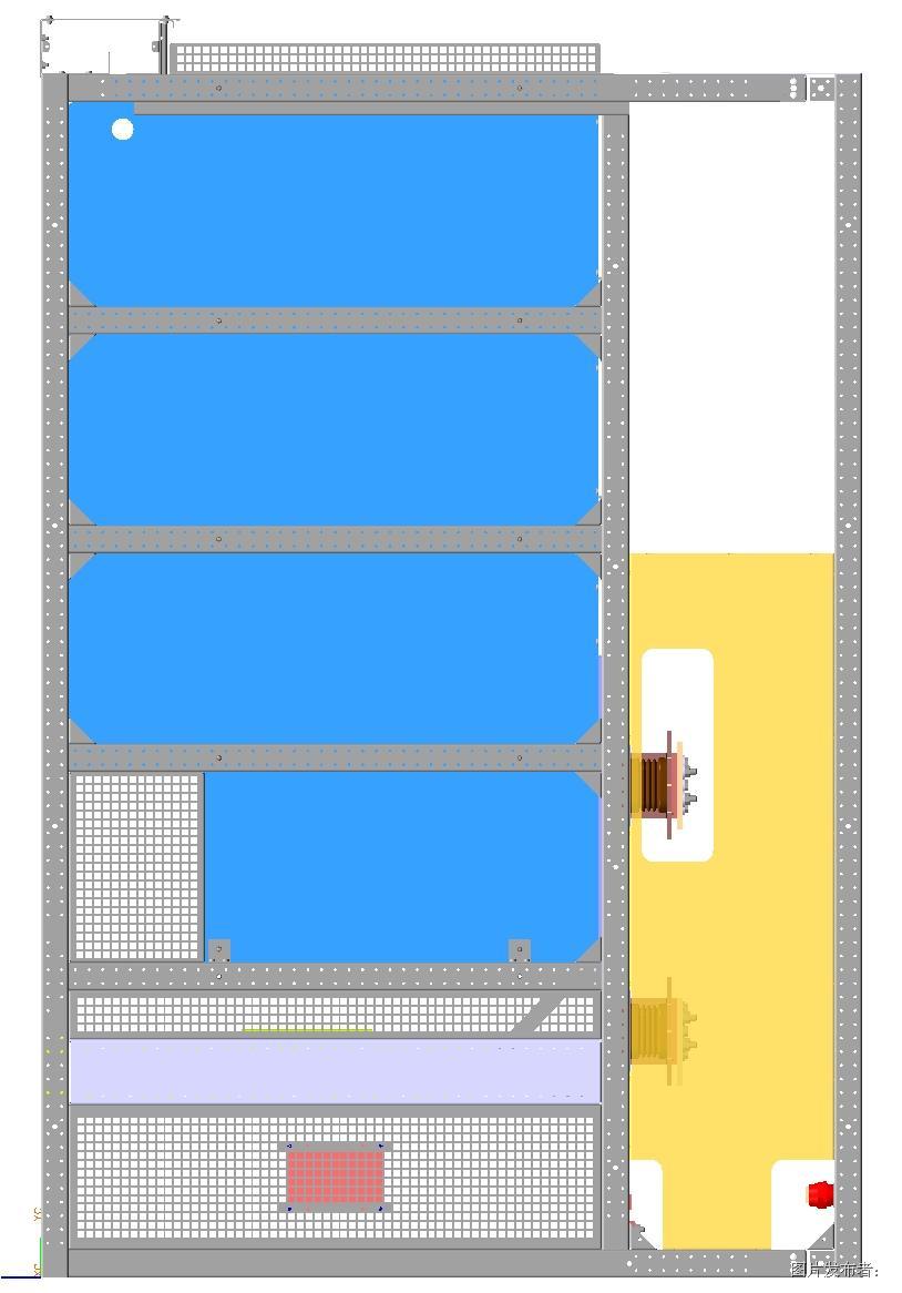 图一. 标准直流柜柜顶泄压通道设计方案