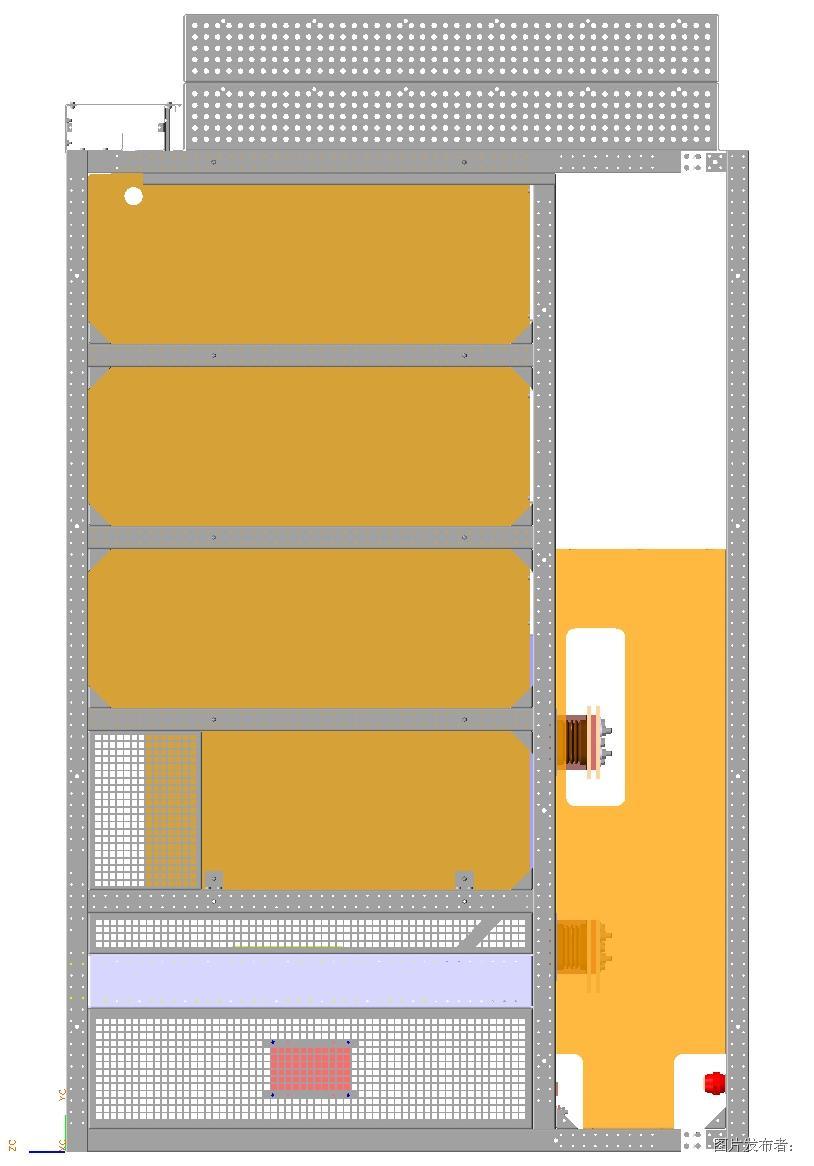 图二. 箱式变电站直流柜柜顶泄压通道设计方案