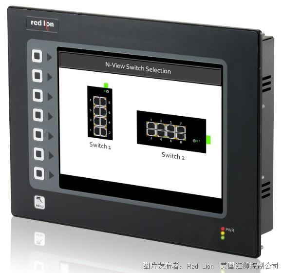 红狮G3 系列HMI 已实现综合以太网交换机的监控
