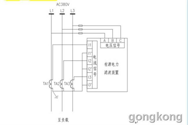 2.7.2 互感器的安装 1)互感器的p1端指向电网,p2端指向负载.