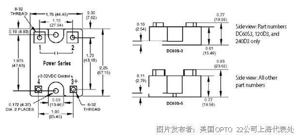 Z系列说明书 交流功率:120/240V   Z系列利用独特的热传播系统,使低成本、10A、以塑料外壳封装的Opto 22固态继电器得以诞生。推动开启、无需工具快速连接终端,使得Z型SSR成为大量OEM应用的理想选择。操作温度:-40°C~100 °C。   注意:模块编号Z240D10-17只是代替元件。它的说明书同Z240D10。