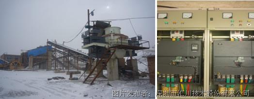 汇川md380矢量变频器在冲击式制砂机上的应用