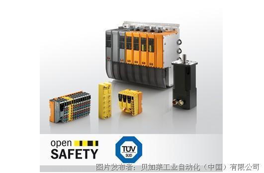 贝加莱全线安全产品符合EN 50156所有要求