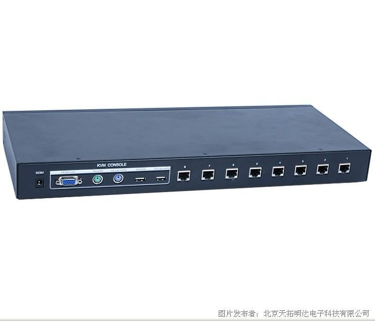天拓TANTO高性价比 KVM CK-108C 切换器