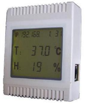 海通达推出HTD-550 RS485总线型无线LCD温湿度传感器
