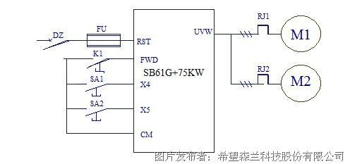 37kw变频器电路图纸