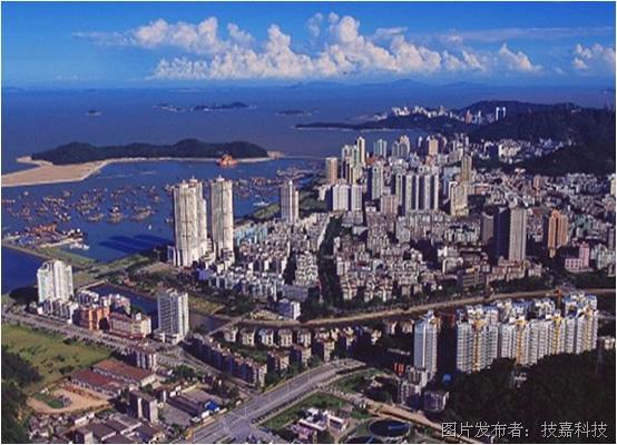美丽的海滨新城珠海