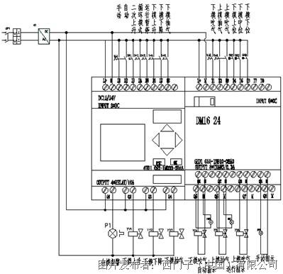 标志307仪表电路图