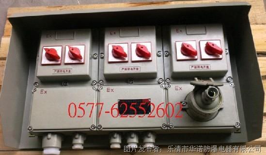 华诺防爆研制和开发BXMD不锈钢防爆照明动力配电箱