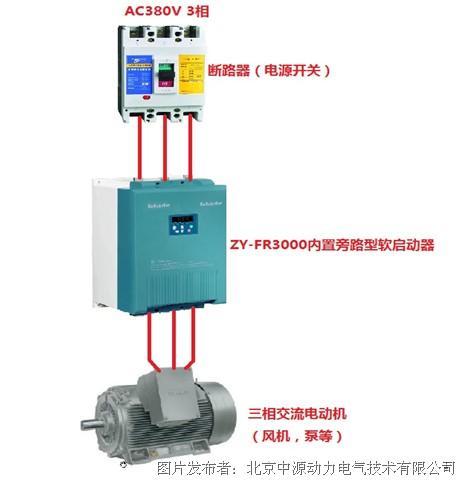 中源动力推出新品:ZY-FR3000系列内置旁路型电机软起动器