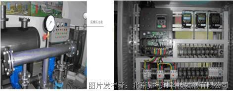 勤德时成功将英威腾chv160系列供水专用变频器应用于