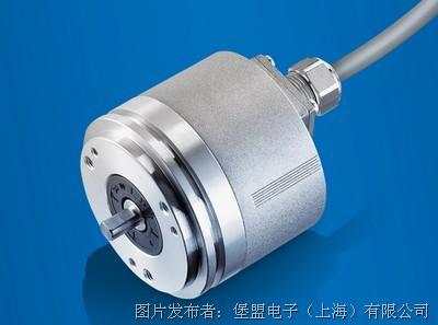 适用于狭窄空间:带轴向连接方式的光电编码器OptoPulse EIL580