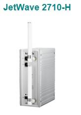 科洛理思推出工业多频802.11 n/a/b/g无线AP/基站-JetWave 2710-H
