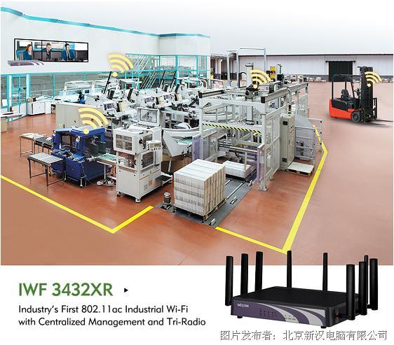 新汉推出首款802.11ac工业Wi-Fi,集中式管理&三重无线