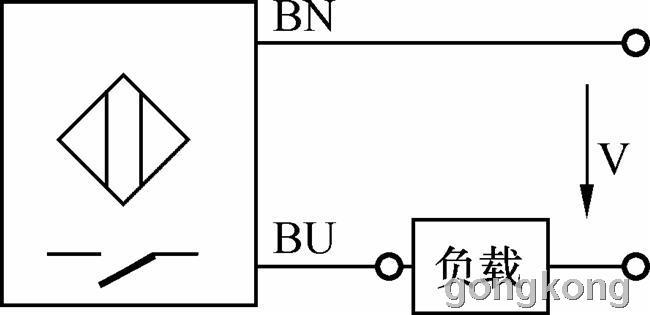 三线式接近开关的接线方法