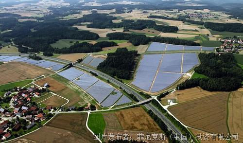 太阳能发电园区的全面控制