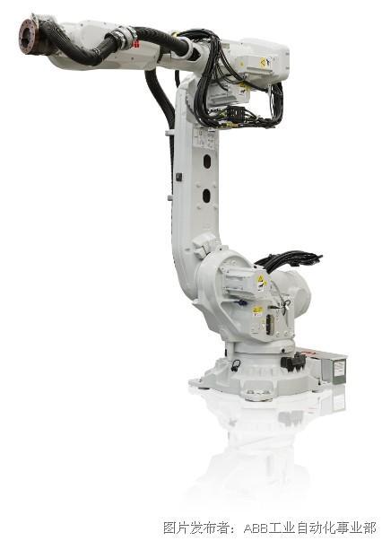 ABB强档推出第7代工业机器人IRB 6700