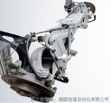 带独创汽车后轴的电子驻车制动器(epb).