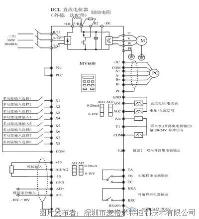 麦格米特 mv600t 低压变频器