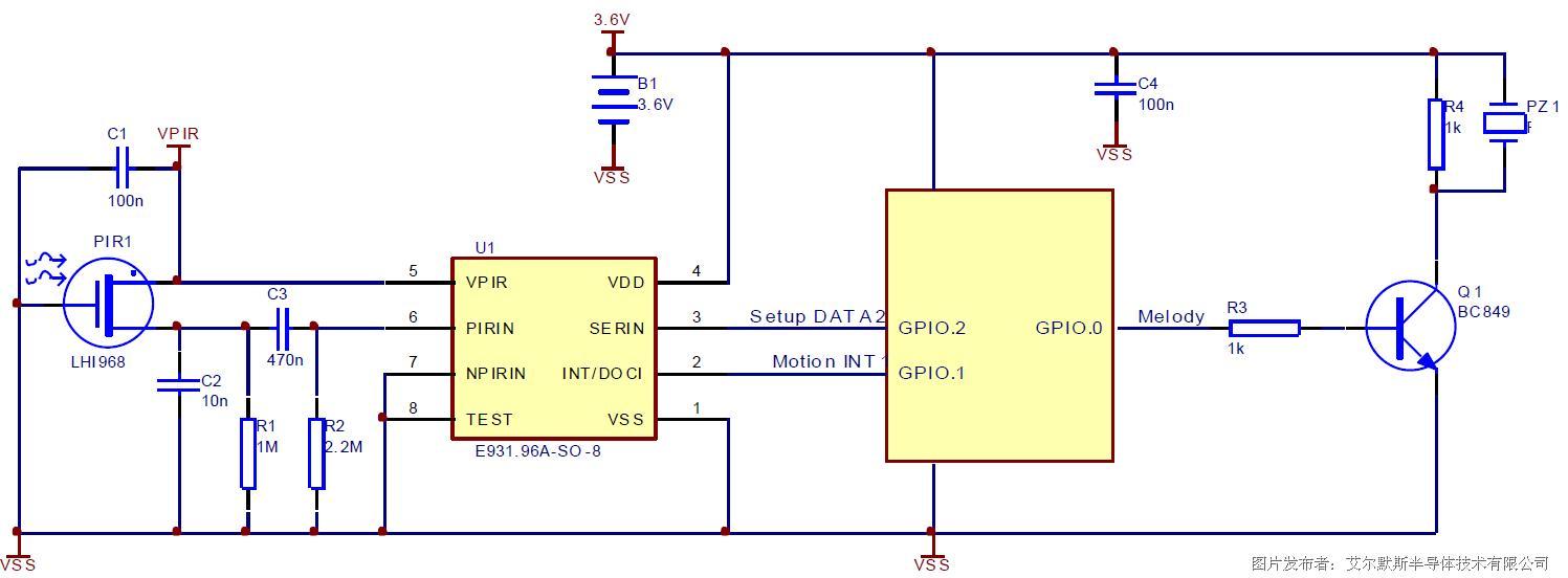 elmos推出超低功耗的热释电传感器技术解决方案