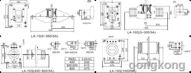 电流互感器接线图图片