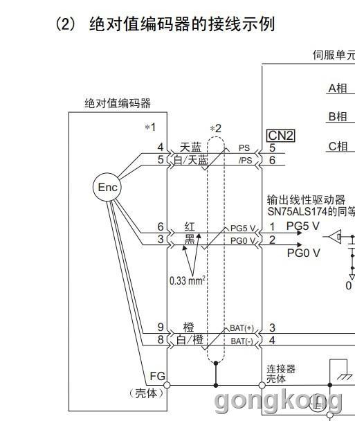 安川伺服电机内部结构图