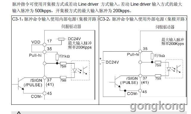 伺服驱动器位置脉冲模式-专业自动化论坛-中国工控网