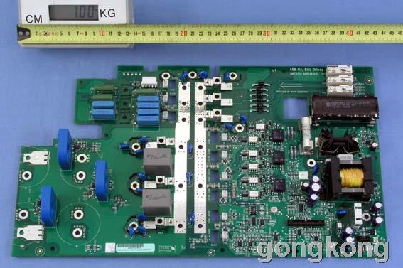 这个板子的霍尔传感器轻易是不会坏的,一般都是主电路接口板上的电流