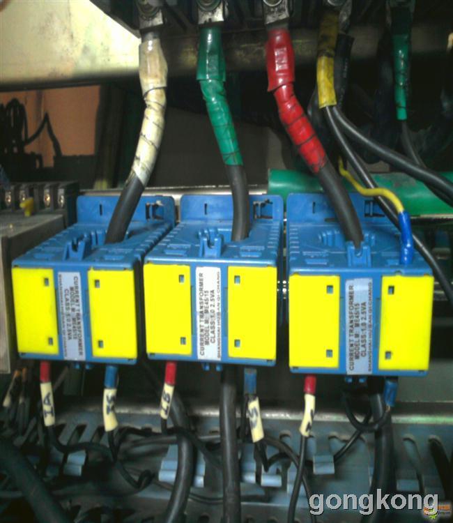 形表测量电机三相电流