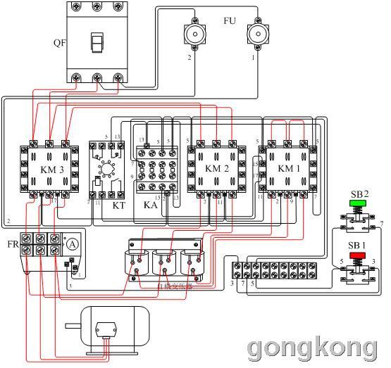 再次启动;自耦降压起动电路不能频繁操作