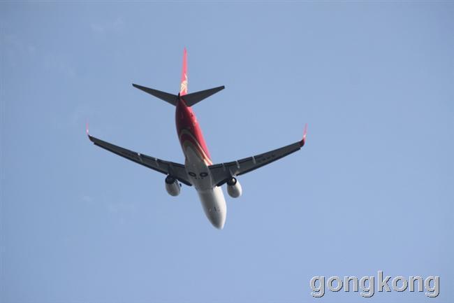 首都机场白的飞机