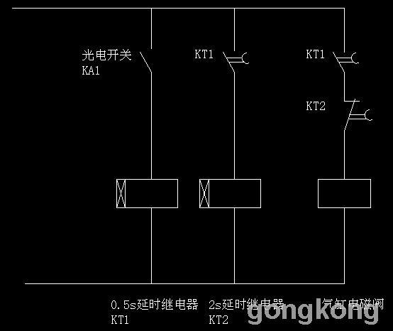 电磁阀控制线路图片